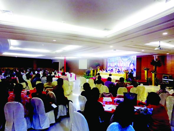 Ruang Aula GBI Mawar Sharon Dipenuhi Para Pendeta, Majelis dan Jemaat: Bahas Sikap Untuk LGBT