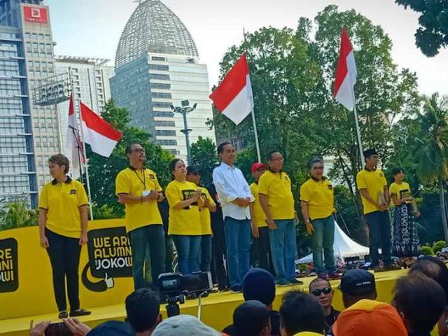Alumni UI Deklarasi Dukung Jokowi Kembali Pimpin Indonesia