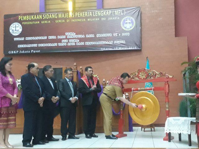 Sidang MPL PGIW DKI Jakarta Tahun 2019 Resmi Dibuka