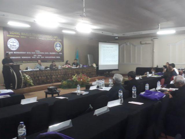 "Sidang MPL PGIW DKI Cisarua:  Prof Jimly Bicara Penjara Tidak Membuat Penjahat menjadi Lebih Baik"""