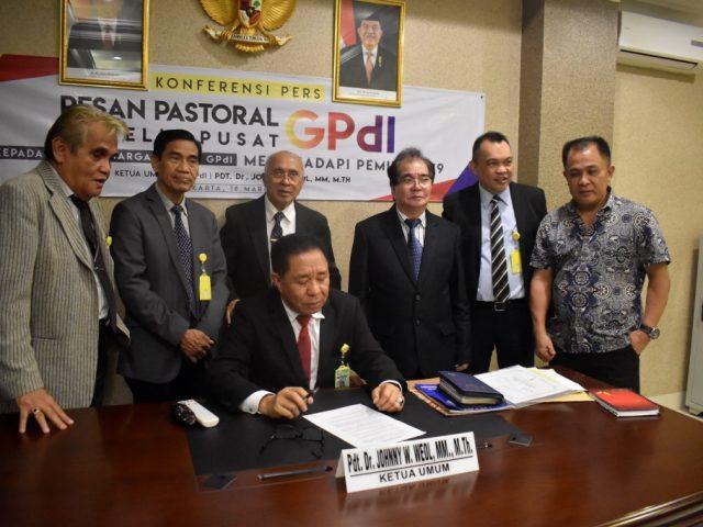 Seruan MP GPdI: Jemaat Bebas Memilih Di Pileg dan Pilpres Mendatang