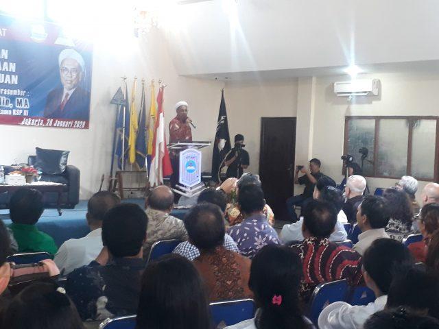 Sesi Kedua Kuliah Terbuka STT IKAT, Dr Ali Mochtar Ngabalin: Lima Kriteria Seseorang Disebut Terpelajar