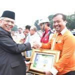 Pemerintah Palembang Memberi Pengahrgaan K3 Pelindo II