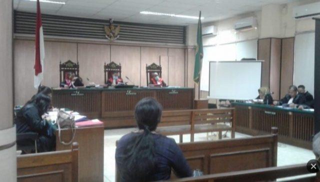 Sidang  Pengadilan PN Jakut Tetap Berjalan Meski Wabah Covid 19