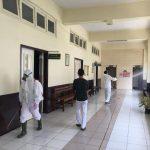Untuk Menjaga Keselamatan, Gedung PN Jakut Disemprot Total