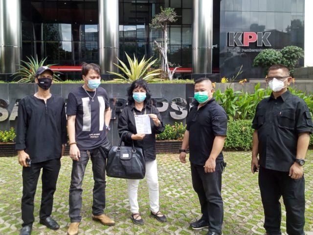 Ketua LSM Diduga Menyalahgunakan Bansos Sherly Sophi Politon Laporkan KPK