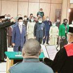 Panitera Baru Diambil Sumpah oleh Ketua Pengadilan Nengeri Jakarta Utara