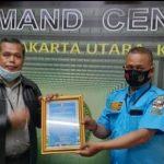Hakim PN Jakarta Utara Djoeyamto SH MH Menerima Penghargaan