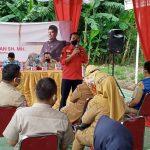 Anggota DPRD DKI Agust Hamonangan SH, MH Lakukan Tatap Muka dengan Warga Kuningan Barat Mampang Untuk SOSPERDA