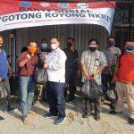 GMDM Salurkan Bantuan Sosial dari BNN Kepada PEWARNA Indonesia