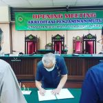 Ketua PN Jakarta Utara Tanda Tangani MuO Pelaksanaan Audit Internal