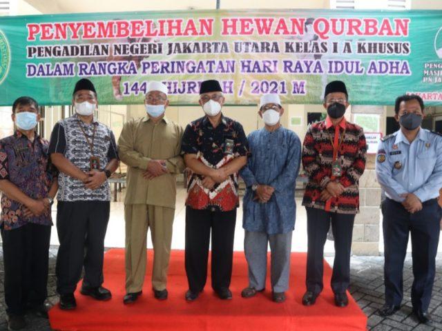 Pengadilan Jakarta Utara Turut Berkurban