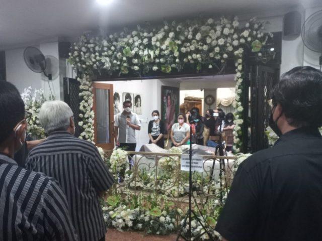 Pelayat Tokoh  Nasional Sabam Sirait Terus Berdatangan, Maruarar Sirait: Minggu Keluarga akan Serahkan Ke Negara untuk Disemayangkan di Senayan